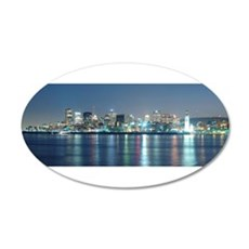 Montreal le soir Decal Wall Sticker