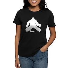 Hockey Goalie Silhouette T-Shirt