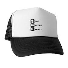 Eat Sleep Score Trucker Hat
