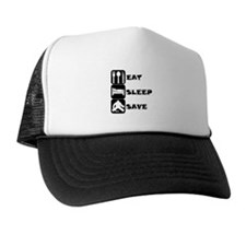 Eat Sleep Save Trucker Hat