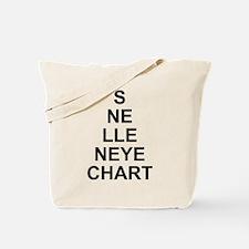 Vertical Eye Tote Bag