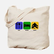 Eat Sleep Save Tote Bag