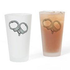Handcuffs Drinking Glass