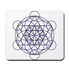 Merkaba Field Mousepad