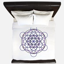 Merkaba Field King Duvet