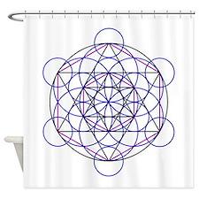 Merkaba Field Shower Curtain