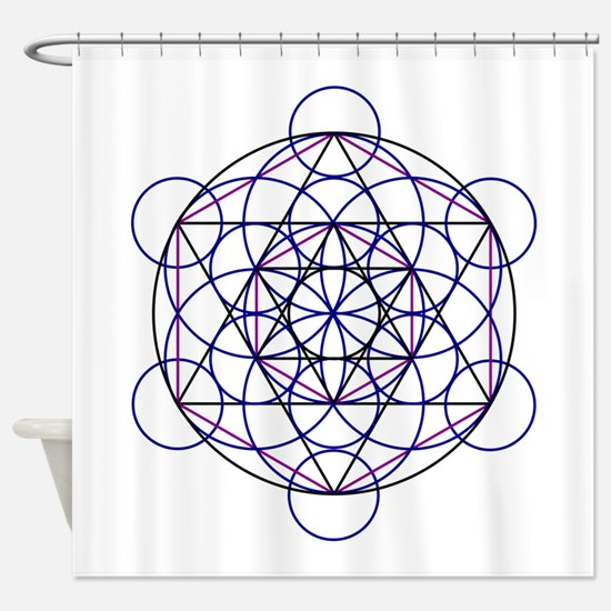 Merkaba Field Shower Curtain