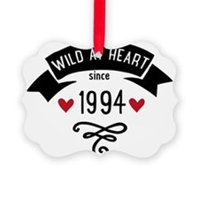 wild at heart since 1994 Ornament