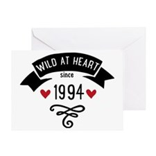 wild at heart since 1994 Greeting Card