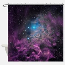 Flaming Star Nebula Shower Curtain