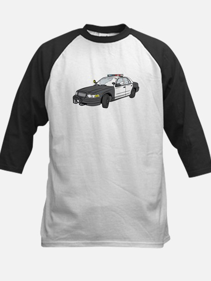 Cop Car Baseball Jersey
