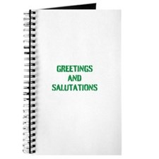 GREETINGS AND SALUTATIONS Journal