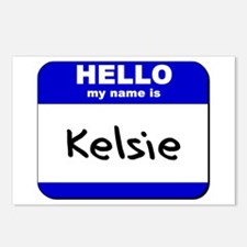 hello my name is kelsie  Postcards (Package of 8)