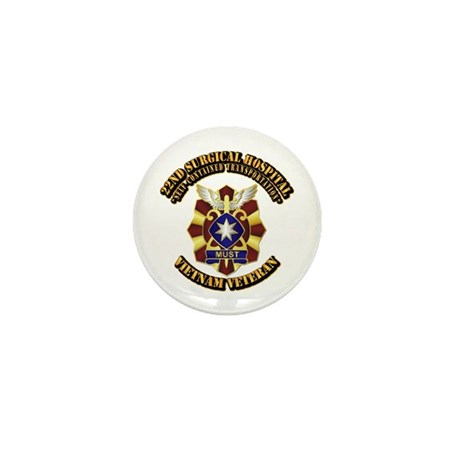 22nd Surgical Hospital Mini Button
