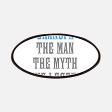 Grandpa The Man Myth Legend Patches