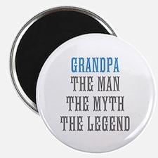 Grandpa The Man Myth Legend Magnets | Personalize