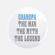 "Grandpa The Man Myth Legend 3.5"" Button"