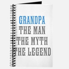Grandpa The Man Myth Legend Journal