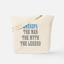 Grandpa The Man Myth Legend Tote Bag