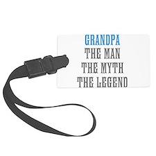 Grandpa The Man Myth Legend Luggage Tag