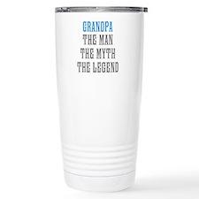 Grandpa The Man Myth Legend Travel Mug