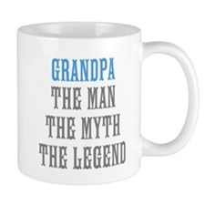 Grandpa The Man Myth Legend Mugs