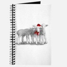 Christmas Hat Lambs Journal