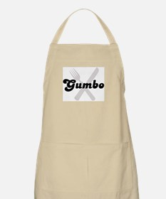 Gumbo (fork and knife) BBQ Apron