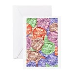 Brain Journal Greeting Cards