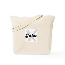 Juice (fork and knife) Tote Bag