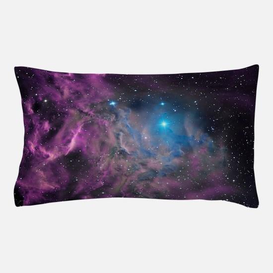 Flaming Star Nebula Pillow Case