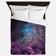 Flaming Star Nebula Queen Duvet
