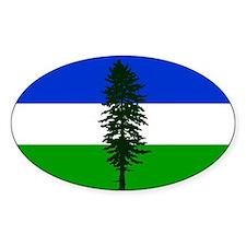 Cascadia bumper Rectangle Decal