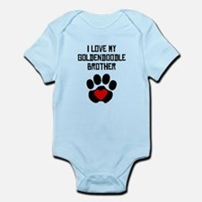 I Love My Goldendoodle Brother Body Suit
