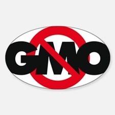 Stop GMO (distressed style) Decal