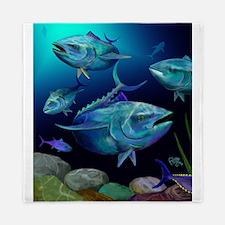 Blue Fin Tuna Queen Duvet
