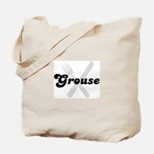 Grouse (fork and knife) Tote Bag