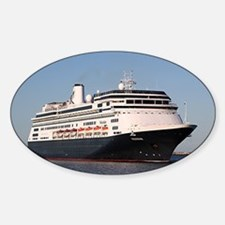 Cruise ship 7 (oval) Decal