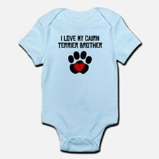 I Love My Cairn Terrier Brother Body Suit