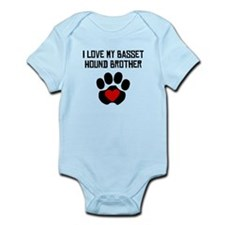 I Love My Basset Hound Brother Body Suit