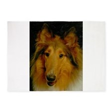 Sable Head shot 5'x7'Area Rug