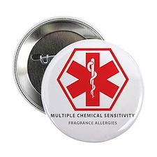 """Multiple Chemical Sensitivity-MCS 2.25"""" Button (10"""