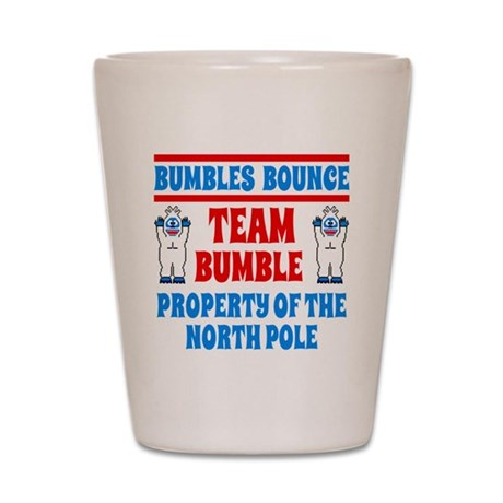 Wedding Gift Check Bounced : Bumbles Bounce Property of the North Po Shot Glass by listing-store ...