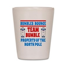 Bumbles Bounce Property of the North Po Shot Glass