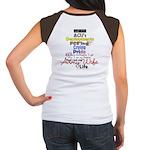 Army Wife Life Women's Cap Sleeve T-Shirt