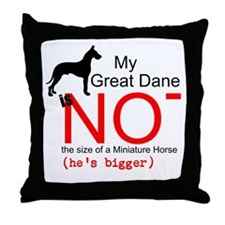 Great Dane (Male) - Throw Pillow