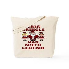 Funny Kris Kringle Man Myth Legend  Tote Bag