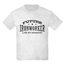 Future Ironworker Like My Grandpa T-Shirt