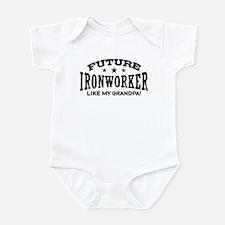 Future Ironworker Like My Grandpa Infant Bodysuit