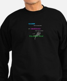 Equestrian Moms Are Tough Sweatshirt